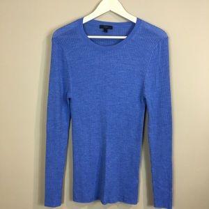 J. Crew long ribbed Merino wool long sweater